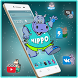 Cute Cartoon Hippo Mobile Theme by Luxury Mobile Themes