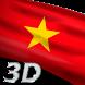 Vietnam Flag Live Wallpaper 3D by Mummy Apps