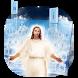God Jesus Keyboard Theme by cool wallpaper