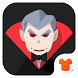 Cute Cartoon Vampire Launcher Theme by Themes for Android Free