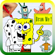 How to Draw SpongeBob SquarePants by Drawings Apps