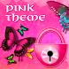 Butterfly Pink Theme GO Locker by Workshop Theme
