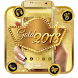 Luxury Gold 2018 Launcher Theme by HD Theme launcher Creator