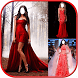 Red Prom Women Dress by LinkopingApps