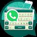 Keyboard Theme For Whatsapp by Music Emoji Keyboard Theme