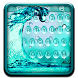 Blue Waterdrop Keyboard Theme by Fidget Spinner League