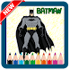 Coloring for Kids Superhero Batman