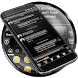 SMS Messages Dusk Black Theme by Themes Messages Contacts Dialer by Double L