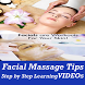 Facial Massage Steps and Tips Makeup Learning App by Master Super Apps