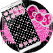 Pink Glitter Kitty Bow Diamond Theme by Angela Themes