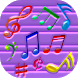 Colorful Musical Notes LWP by Free World Apps