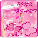 Pink Heart Love Theme by Cool Launcher Theme