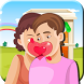 Kissing Game-Homely Couple Fun by Quicksailor