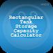 Rectangular Tank Capacity Calc by HIOX Softwares Pvt Ltd