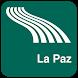 La Paz Map offline by iniCall.com