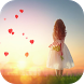 Red Heart Love Launcher Theme by Pink Themes for Hola Launcher