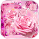 Pink Rose Love Romance Theme by AllIn Themes App