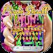 Horrible pink graffiti skull keyboard by Bestheme Keyboard Designer 3D &HD