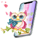 Colorful Cute Cartoon Owl Theme by Angela Themes