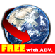 AntipodesMapFree byNSDev by Nihon System Developer Corp.