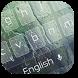 Pure Raindrops Keyboard by Keyboard Theme Factory