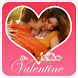 Valentine Day Photo Frame Love by MeTOO