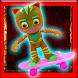 Adventurer PJ On A Skateboard Masks Games by BEST APPS DEV