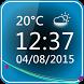 Minimal Clock Widget by The World of Digital Clocks