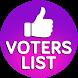 Voters List 2018 by Archuz Corner