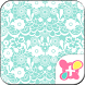 Simple Theme-Lace Flowers- by +HOME by Ateam
