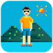 Pixel style weather widget by Weather Widget Theme Dev Team