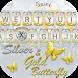 Gold Silver Butterfly Theme&Emoji Keyboard by Keyboard Fantasy