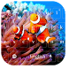 Tropical Fish HD Theme by M Typewriter Theme Studio