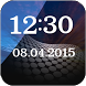 Glass Clock And Weather Widget by The World of Digital Clocks
