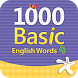1000 Basic English Words 4 by Compass Publishing