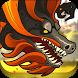Asian Black Dragon Sim 3D by androgeym