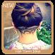 Artistic Hair Tattoo Design by Triangulum Studio