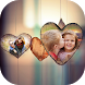 Love Dual Photo Frame by PixsArt Studio