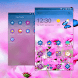 Flowers and Butterfly by New CM Launcher Theme