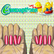 Happy Athena Nails by E-exceptions