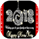 Happy new year 2018 images Gif by el zouiri app