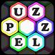Make Hexa Word Puzzle by Fog Revolution