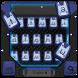 ball robot war keyboard deep blue metal by Keyboard Creative Park