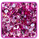 Luxury Pink Diamond Keyboard by beautifulwallpaper