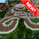 Land Park map for Minecraft by MCPE maps