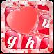 Sweet Love Keyboard Theme by Teddy App Mania