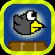 Crashy Crow - The Floppy Bird by Skynetric LLC