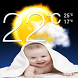 Weather App & Baby Wallpaper by ahmed bh