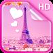 Sweet Paris Live Wallpaper HD by Dream World HD Live Wallpapers