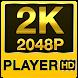 2k HD video player (2k super HD) by thehelpfultech